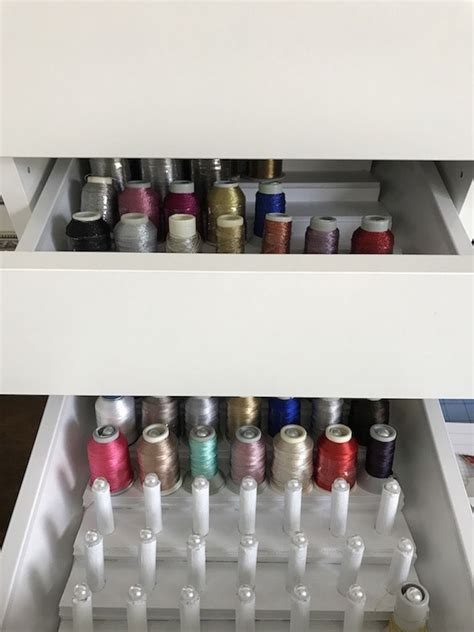 Diy Wood Drawer Thread Organizer